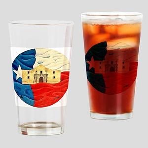 Texas Pride Drinking Glass