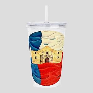 Texas Pride Acrylic Double-wall Tumbler