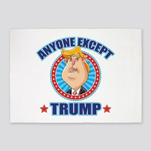 Anti-Trump 5'x7'Area Rug