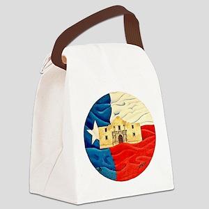 Texas Pride Canvas Lunch Bag