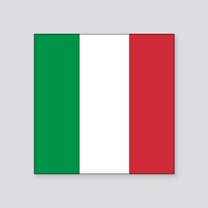 Authentic Italy national flag - SQ product Sticker