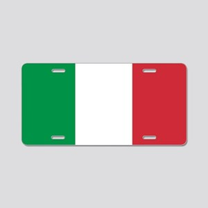 Authentic Italy national fl Aluminum License Plate