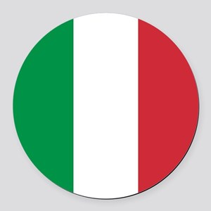 Authentic Italy national flag - S Round Car Magnet
