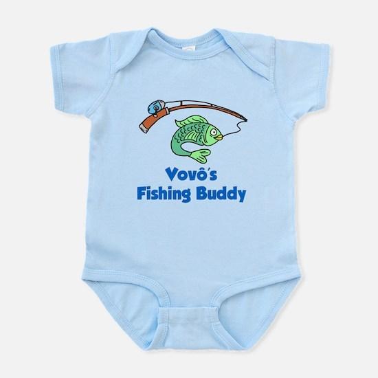 Vovo (Grandpa) Fishing Buddy Body Suit