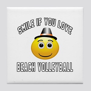 Beach Volleyball Cool Designs Tile Coaster