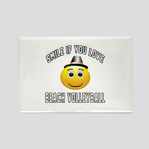 Beach Volleyball Cool Designs Rectangle Magnet