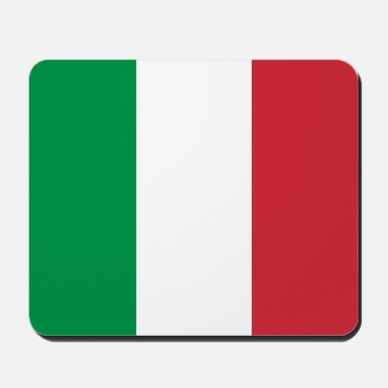 Authentic Italy national flag - SQ produ Mousepad