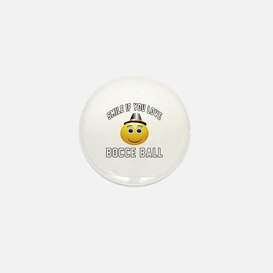 Bocce Ball Cool Designs Mini Button