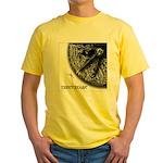 Monkeysoop Counterclockwise Yellow T-Shirt