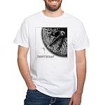 Monkeysoop Counterclockwise White T-Shirt