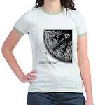Monkeysoop Counterclockwise Jr. Ringer T-Shirt