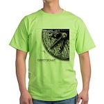 Monkeysoop Counterclockwise Green T-Shirt