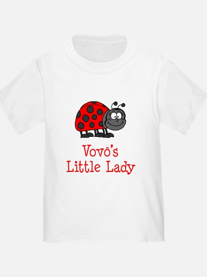 Vovo's (Grandpa) Little Lady T-Shirt