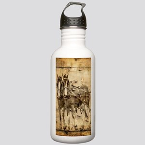 western country farm h Stainless Water Bottle 1.0L