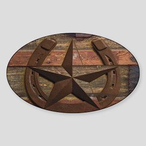 western horseshoe texas sta Sticker