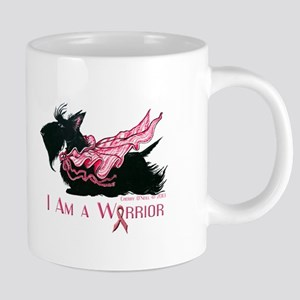 Scottish Breast Cancer Warrior Mugs