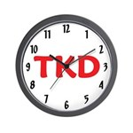 TKD Taekwondo Wall Clock