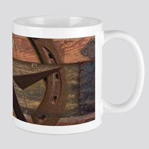 western horseshoe texas star Mugs