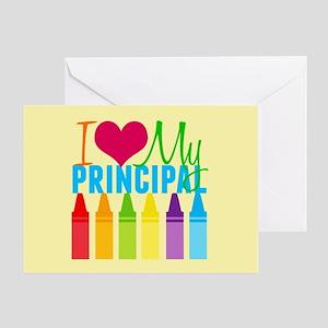 Best Principal Greeting Card