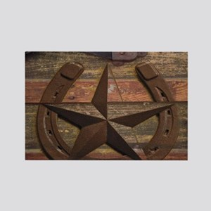 western horseshoe texas star Magnets