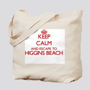 Keep calm and escape to Higgins Beach Mai Tote Bag