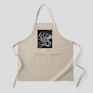 vintage octopus kraken sea creature nautical Apron