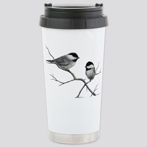 chickadee song bird Stainless Steel Travel Mug