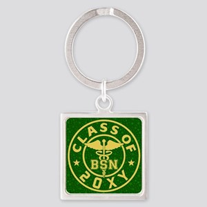 Class of 20?? Nursing Square Keychain