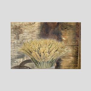barn wood wheat horseshoe Magnets