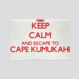 Keep calm and escape to Cape Kumukahi Hawa Magnets