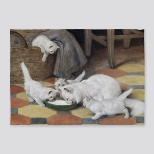 Dinner Time by Heyer 5'x7'Area Rug