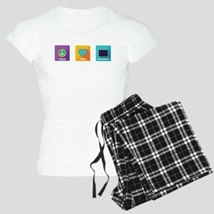 Peace, Love, Colorado Women's Light Pajamas