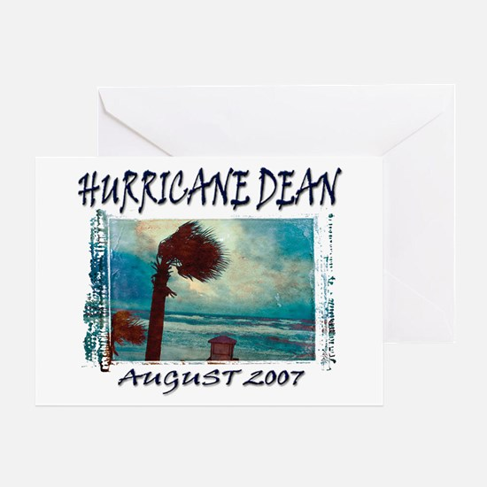 Photo Hurricane Dean Greeting Card