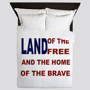 Free Flag Queen Duvet