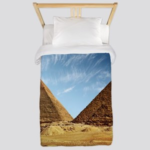 Egyptian Pyramids and Camel Twin Duvet