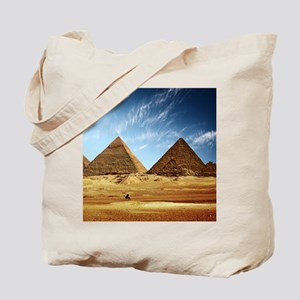Egyptian Pyramids and Camel Tote Bag