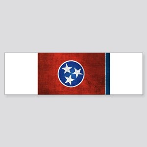 Tennessee State Flag Bumper Sticker