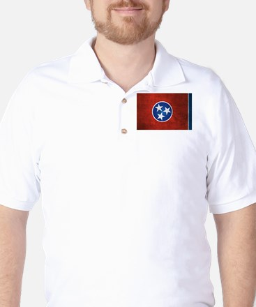 Tennessee State Flag Golf Shirt