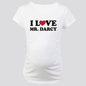 I Love Mr. Darcy Maternity T-Shirt
