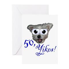 50th Birthday Party Invitations (Pk of 10)
