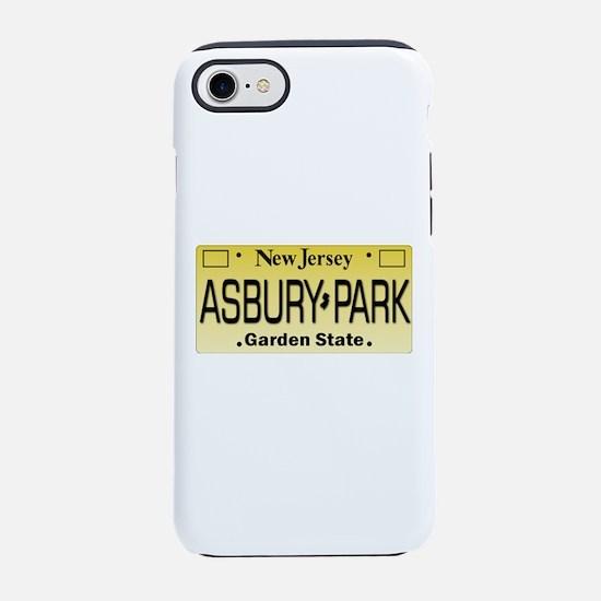 Asbury Park NJ Tag Giftware iPhone 8/7 Tough Case