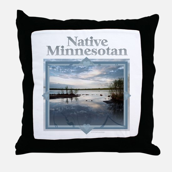 Cute Minneapolis Throw Pillow