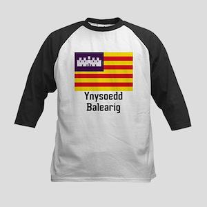 Ynysoedd Balearig Kids Baseball Jersey