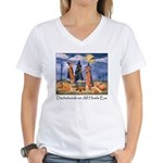 All Howls Eve Women's V-Neck T-Shirt