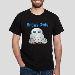 Snowy Owls Dark T-Shirt