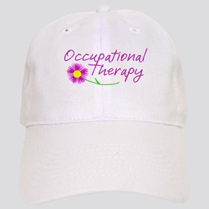 Occupational Therapy Hand Flower Baseball Cap
