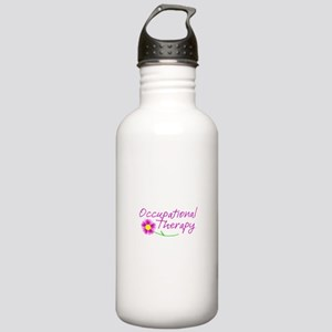 Occupational Therapy Hand Flower Water Bottle