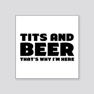 Tits And Beer Sticker