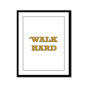 Dewey Cox - Walk Hard Framed Panel Print