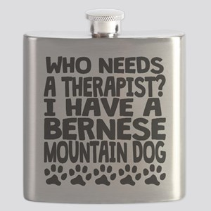 I Have A Bernese Mountain Dog Flask